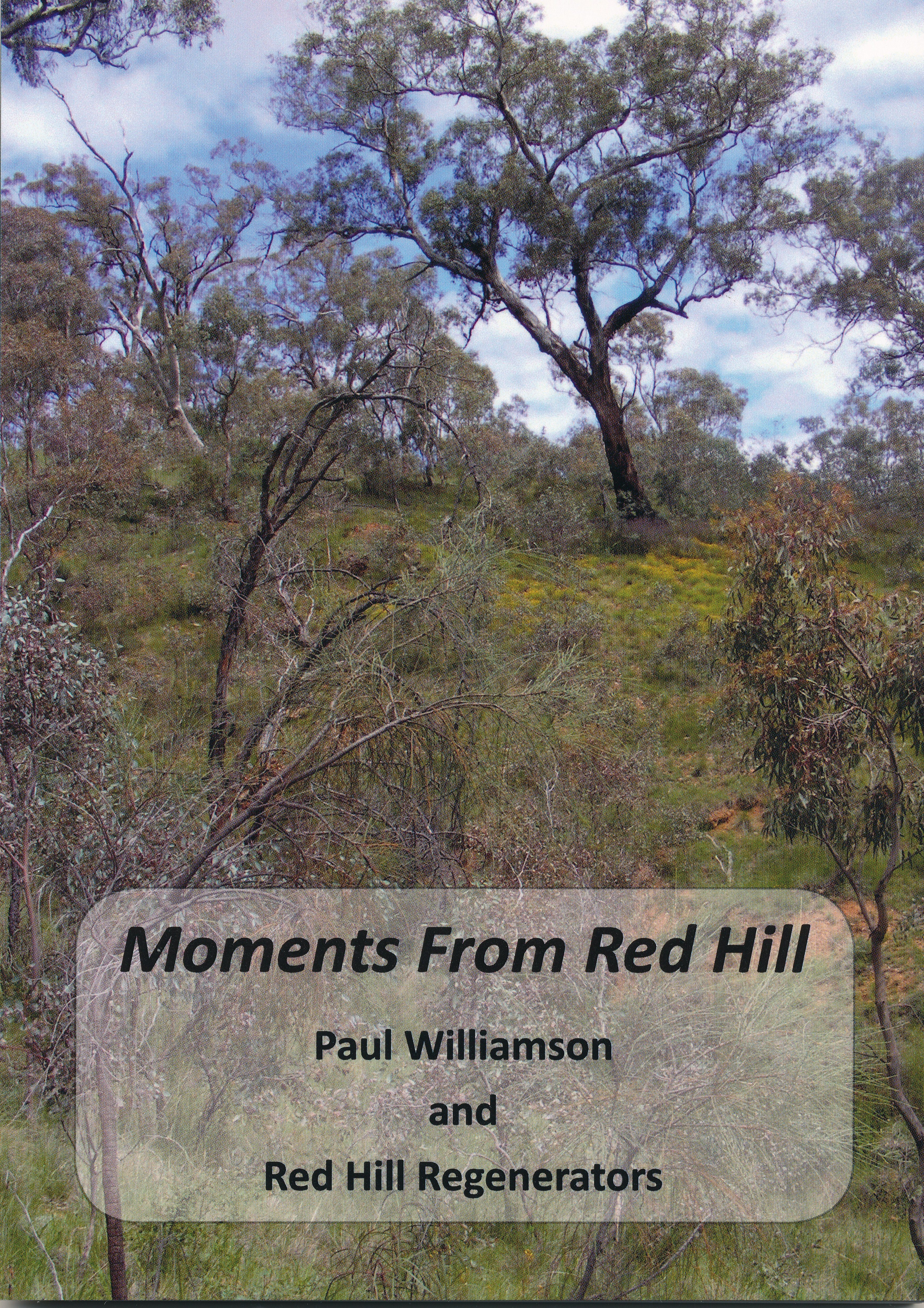 """Moments from Red Hill"" - Front cover"